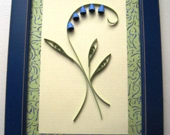 Quilled Flower Picture, Quilled Picture, Quilled Flowers