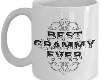Unique Coffee Mug - Best Grammy Ever - Amazing Present Idea