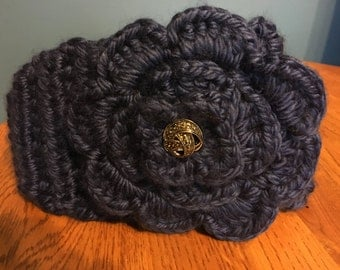 Winter Flower Headband