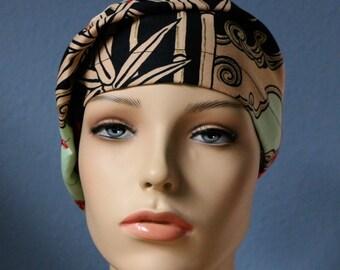 Lady Yang - Custom Made Scrub Cap Slouch Beret Healthcare Headgear