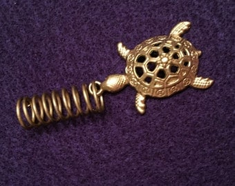 Turtle jewel loc jewelry
