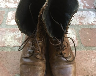 Charles David 7.5 Leather Boots