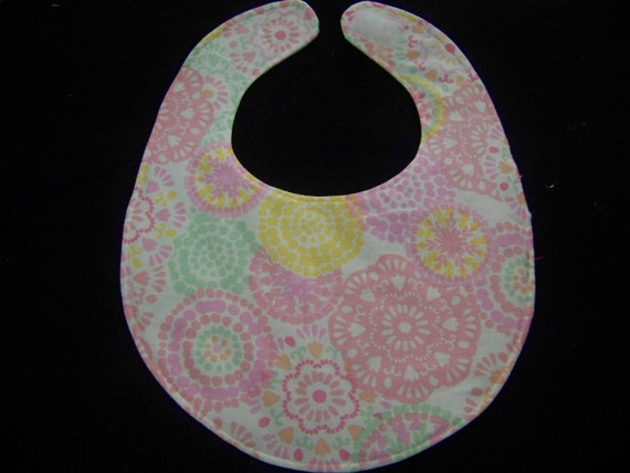 ITSY BITSY  baby bibs for girls