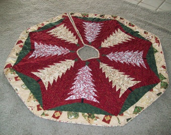 Quilted Christmas Tree Skirt #67