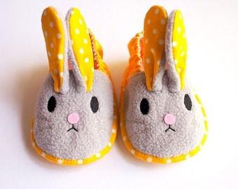 Elastic Baby Booties - Chubby Bunny 11