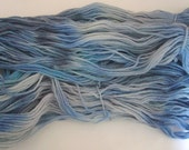 Handdyed Merino Wool Yarn,  495 yrds Worsted Weight