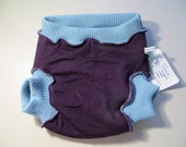 Grateful Buns 3 Layer Wool Soaker Diaper Cover  XL 30 to  40 lbs XS211l15