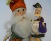 PLay Doll, Dollhouse Doll, OOAK Waldorf type, gnome doll