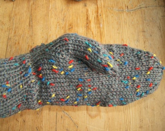 Magic Garden Wool Blend Ladies Mittens