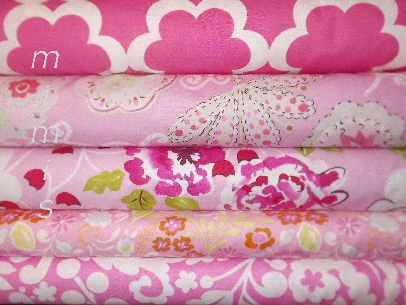 Dena designs fabric tea garden taza 5 half yard bundle for Dena designs tea garden fabric