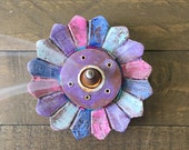 Pastel Gypsy Flower Incense Burner