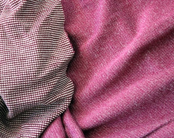 Merino Wool Fabric!! Polartec Power Wool Jersey - Berry - Breathable, fast drying, perfect for sportswear! 2 Yards!