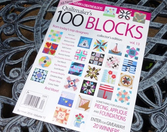 Personalized Copy of Quiltmaker's 100 Blocks, Vol. 13