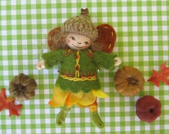 Harvest Fairy Doll Brooch