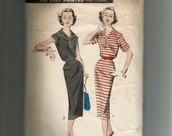 Advance Misses' Dress Pattern 8578