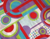 SALE- Retro Modern Fabric-Home Dec-Playful