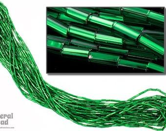 Size 2 Silver Lined Green Bugle (Hank) #CBB008