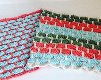 Dishcloth Knit made to order set of two
