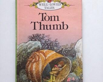 Vintage Childrens ladybird storybook Tom Thumb- fairytale