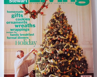Martha Stewart Living #11 December 1992 January 1993 Holiday, Cookies, Jewelry