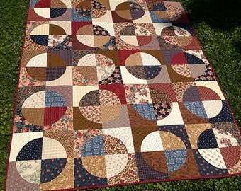 Flannel Circles Quilt