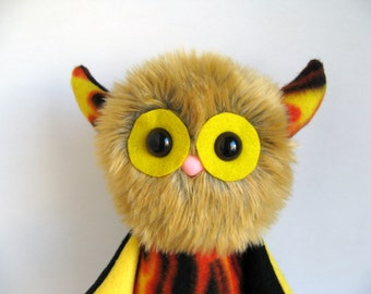 Fire Flames Stuffed Animal Monster Doll Plush Toy Fire Inferno Blaze Embers Sparks Scorch Gift for Nephew