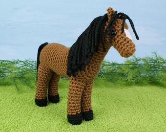 PDF Horse amigurumi CROCHET PATTERN