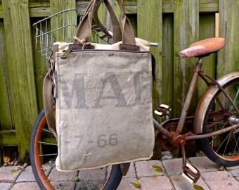 US Mail - Americana Vintage Seed Feed Sack Book Tote W- OOAK Canvas & Leather Tote .. Selina Vaughan