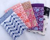 Pillowcase, Cotton Pillowcase, Handmade, Indian Prints, Bedding, Handmade Pillowcase
