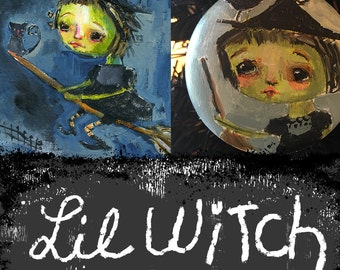Lil Witch mini online class - by Mindy Lacefield