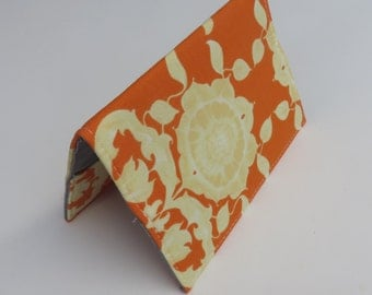 Sale / Clearance - READY TO SHIP - Passport Holder Cover Case Cruise Holiday Travel Holder - Pagoda Lullaby by Tina Givens