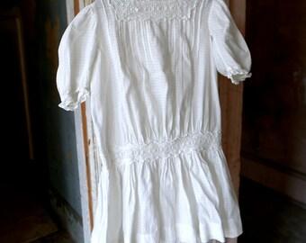 Victorian Drop Waist Girl's Dress Size 3 Years