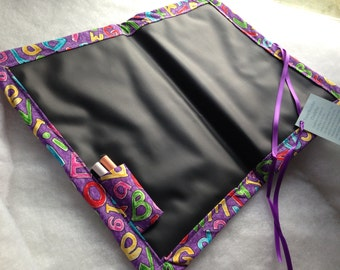 Travel Doodler ChalkMat / ABCs on Purple