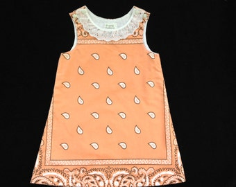 3T bandana jumper dress