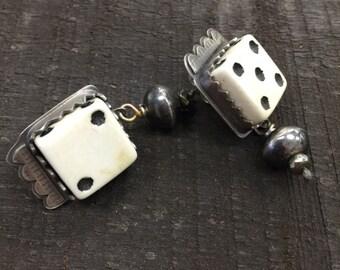Lucky dice earrings