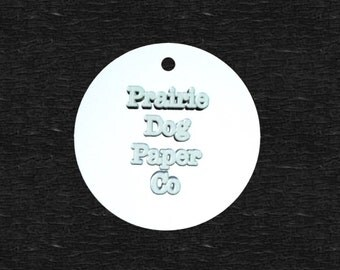 Circle Tags, 2.5 inch, Business Tags, wedding favors, Personalized Tags, printed tags