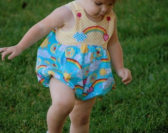 30% OFF Baby Bubble Romper Sewing Pattern - 0 months to 3 years baby and toddler PDF pattern