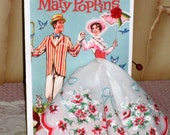 Mary Poppins Hanky Card