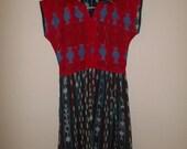 Vintage 70s ethnic dress