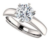 Private Listing for Julia - jolie setting – amora gem engagement ring, 1.58 carats