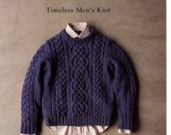 Timeless Mens Knit - Japanese Pattern Book