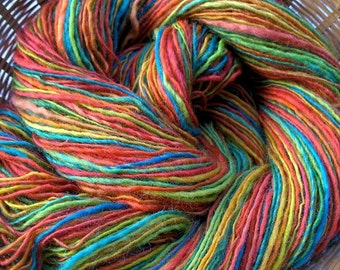 SALE! Sweetgum, handspun DK wool yarn, 76 g/284 yds