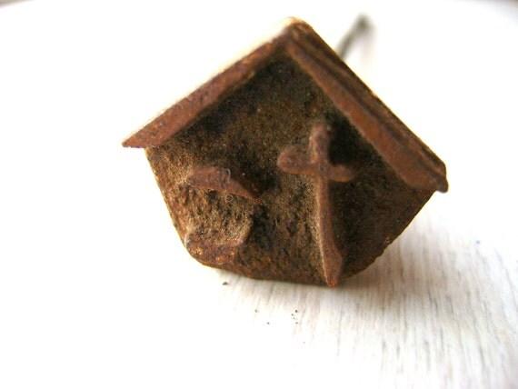 Vintage Branding Iron - Japanese Branding Iron - Vintage Yakiin - Yakin - Kanji Stamp - Metal Stamp - Hiragana Ta S116