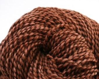 Middlefield Hand Dyed aran weight wool alpaca blend 200 yds 4oz Mocha