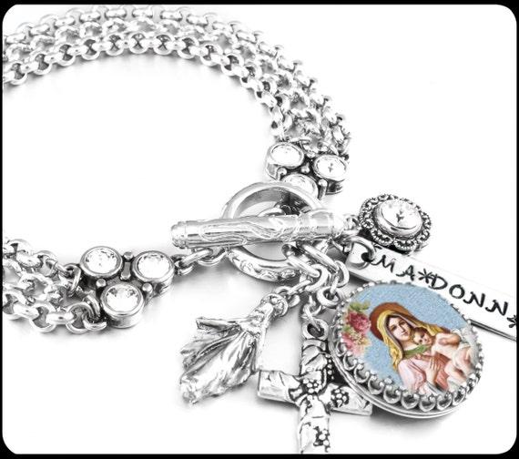 religious jewelry catholic jewelry religious bracelet