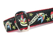 """Buckle Dog Collar 1"""" Only - Rescued"""