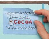STICKER: Livin' la vida Cocoa