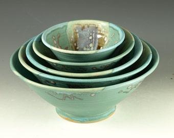 Five piece Nesting Bowls
