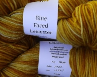 Blue faced Leicester Wool- Gold 122