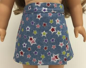 "Girl Doll Clothes - 18"" Inch Doll Clothes - 18 Inch Doll Clothes - Girl Doll Skirt - 18 Inch Doll Skirt - American Handmade - Doll Skirts"